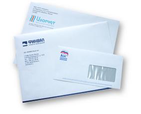 Офсетная печать на конвертах