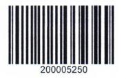 Штрихкод Code 128 (Set C)